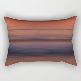 Torrey Pines Sunset Long Exposure Panorama Sweep Rectangular Pillow