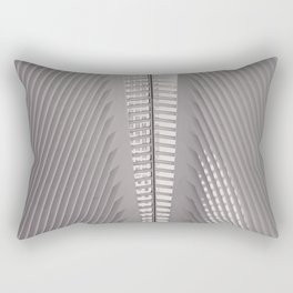New York City,  Oculus, architecture photo, fine art photography, Manhattan, Calatrava, World trade Rectangular Pillow