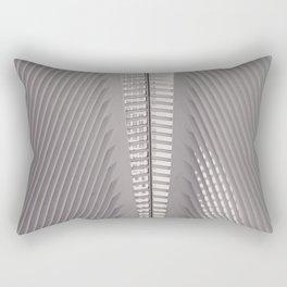 New York City,  Oculus, architecture photo, fine art photography, Manhattan, Calatrava, World trade Rectangular Pillow