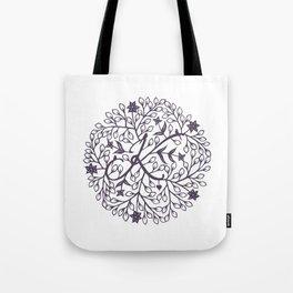 K - monogrammed initial K print Tote Bag