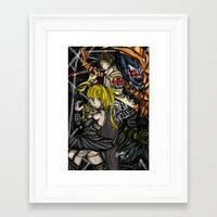 death note Framed Art Prints featuring Death Note by SpontaneousOD