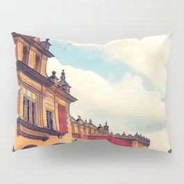 Cracow Main Square Old Town Pillow Sham