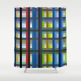 Colorful Imprisonment Shower Curtain
