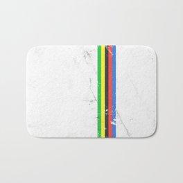 Jersey minimalist cycling Bath Mat