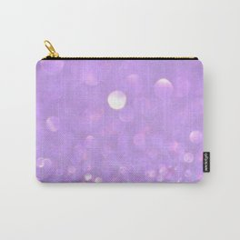 Purple Glitter Carry-All Pouch
