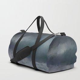 Blue Stormy Sea Duffle Bag