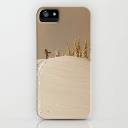 Winter day 5 iPhone Case