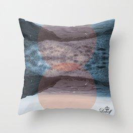 Blue Denny Throw Pillow