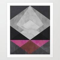 diamond Art Prints featuring Diamond by Georgiana Paraschiv
