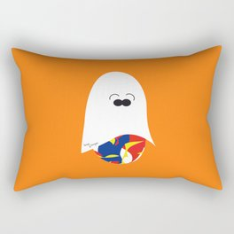 Ghost Jelly Bean,  Bonbon fantôme - Halloween party Rectangular Pillow