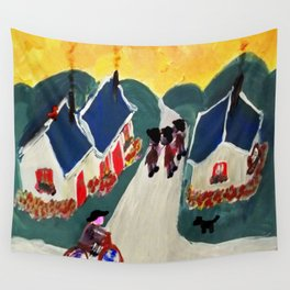 """Au Revoir"" Wall Tapestry"
