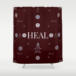 Heal (1 of 7) Shower Curtain