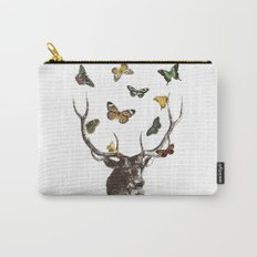 The Stag and Butterflies Carry-All Pouch
