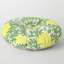 The Fresh Lemon Floor Pillow