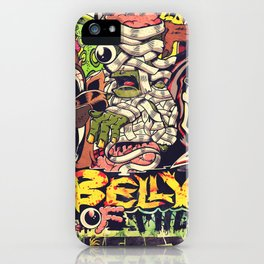 Belly of the beast iPhone Case