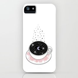 Reading the Coffee Grounds iPhone Case