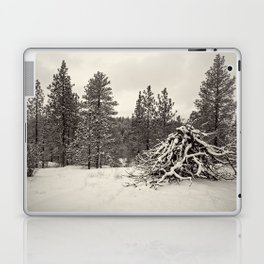 snowy woods Laptop & iPad Skin
