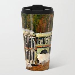 Bus Cemetery Travel Mug