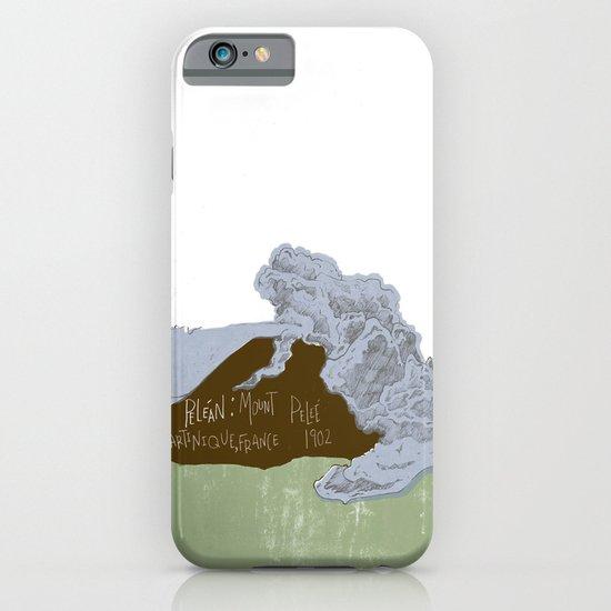Pelean Volcanic Eruption iPhone & iPod Case