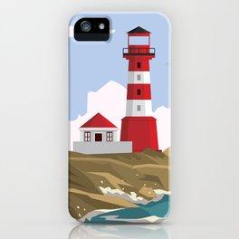 Lighthouse Ahoy! iPhone Case