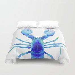 Blue Lobster № 2 Duvet Cover