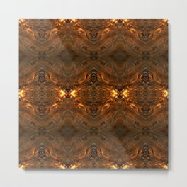 Fractal Art - Bi-Starter B1 Metal Print