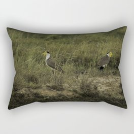 Masked Lapwing's Rectangular Pillow