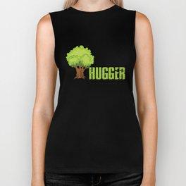 Tree Hugger, Tree Lover Gift, Environmentalist Gift Biker Tank