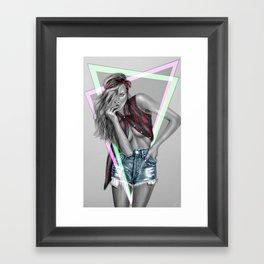 + Take Care II + Framed Art Print