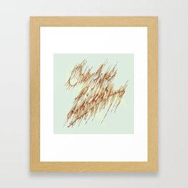 One Fine Lickin. Framed Art Print