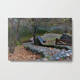 Applegate River Stairs Metal Print