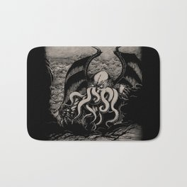 The Rise of Great Cthulhu Bath Mat