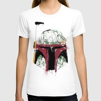 boba T-shirts featuring Boba by Purple Cactus