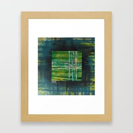 Crossroads Framed Art Print