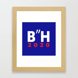 """B""""H Biden Harris 2020 LOGO JKO Framed Art Print"""