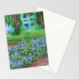 Monet's Garden AC20110715a Stationery Cards