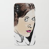 princess leia iPhone & iPod Cases featuring Leia by Hey!Roger