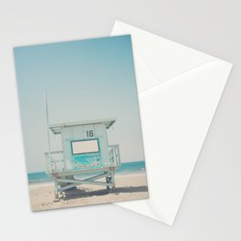 Lifeguard Tower #16 Stationery Cards