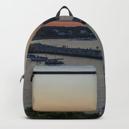 Sunset over Rockport Backpack
