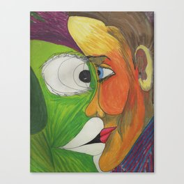 Face your inner monster Canvas Print