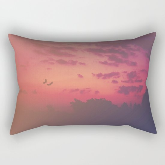 Love Runs Out Rectangular Pillow