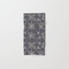 Spiderweb Pattern in Black Hand & Bath Towel