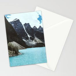 Lake Moraine landscape Stationery Cards