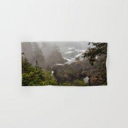 Fog Over Natural Bridges Hand & Bath Towel