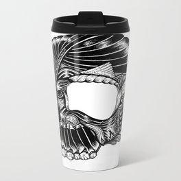 Skull - I Metal Travel Mug