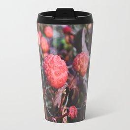 Bright Berries I - Macro Nature Photography Travel Mug