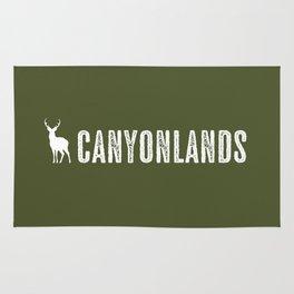 Deer: Canyonlands, Utah Rug