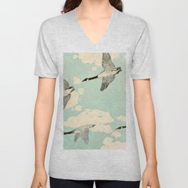 Illustration from The log of the sun a chronicle of nature's year - William Beebe - 1906 Unisex V-Neck