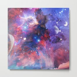 Liquid Galaxy Metal Print