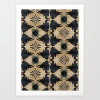 baroque Art Prints featuring Baroque by Laura Sturdy